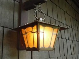 Arts & Crafts Outdoor Lighting