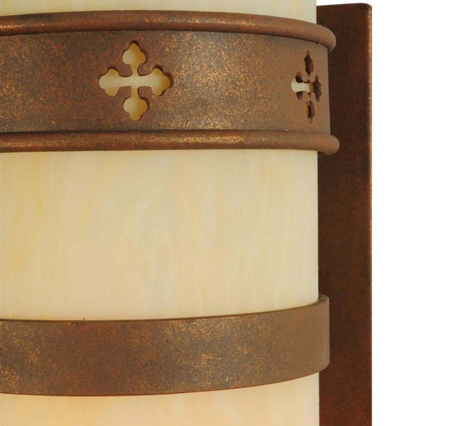 Byzantine 6.5″ Dia Small Transitional Wall Sconce | Grand Light