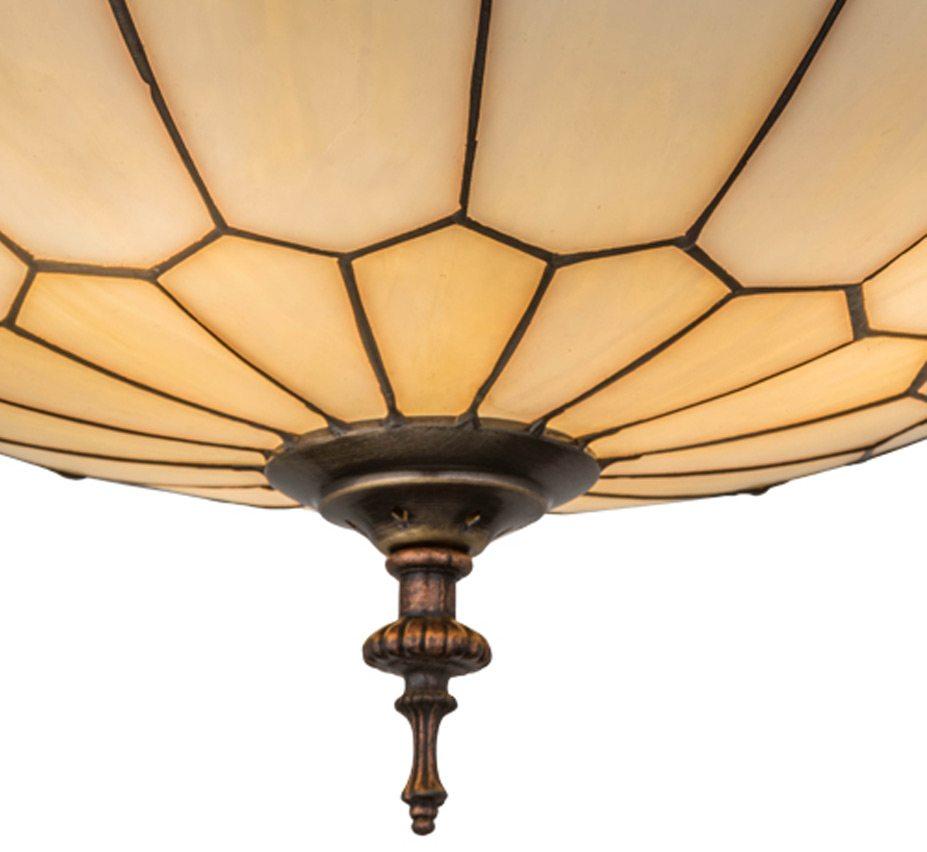Vincent Honeycomb 15″ Dia Medium Arts & Crafts Flush Mount Ceiling ...