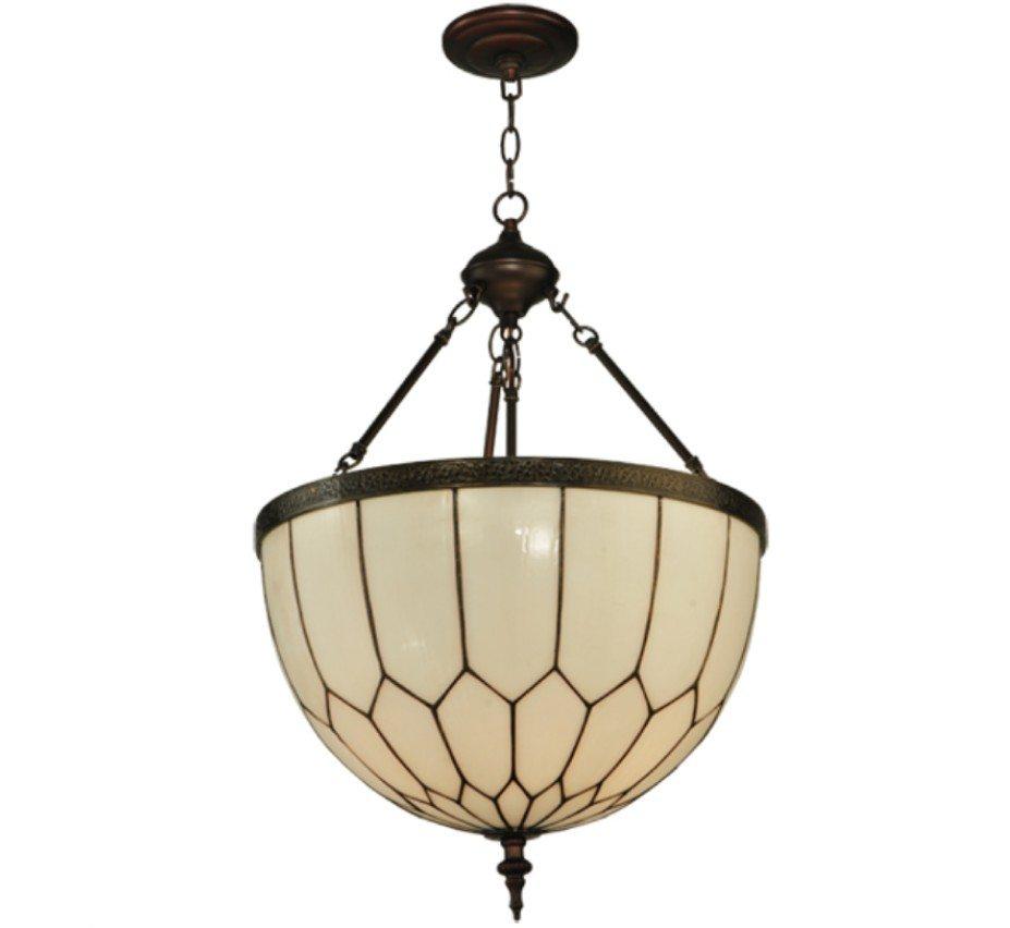 Honeycomb Pendant Light: Vincent Honeycomb 18″ Dia Medium Arts & Crafts Pendant