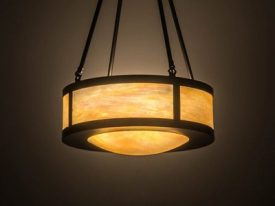 "Medium Arts & Crafts Pendant Lighting - 11"" to 20"" Dia"