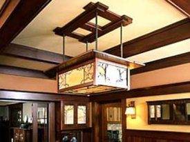 "Extra Large Arts & Crafts Ceiling Lighting - 23"" Dia & Above"