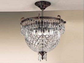 "Medium Traditional Ceiling Lighting - 13"" to 16"" Dia"