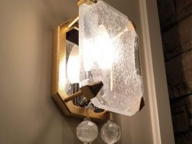 "Small Transitional Wall Sconces - 3"" to 8"" W"