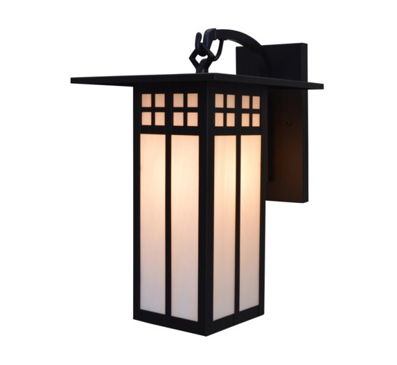 Glasgow 30 H Arts Crafts Outdoor Wall Light