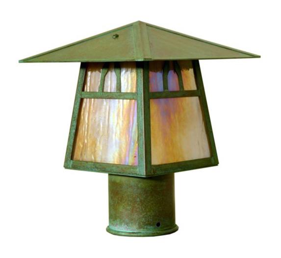 Carmel 6 H Arts Crafts Outdoor Post Light