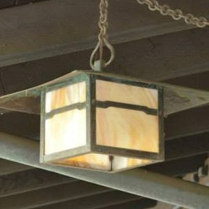 Arts & Crafts Outdoor Hanging Lighting