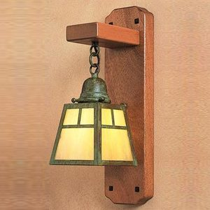 """Small Arts & Crafts Wall Sconces - 3"""" to 8"""" W"""