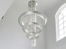 "Extra Large Crystal Pendant Lighting - 31"" Dia & Above"