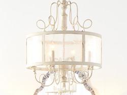 Extra Large Wood & Iron Pendant Lighting – 31″ Dia & Above