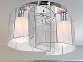 "Large Contemporary & Modern Ceiling Lighting - 17"" to 22"" Dia"